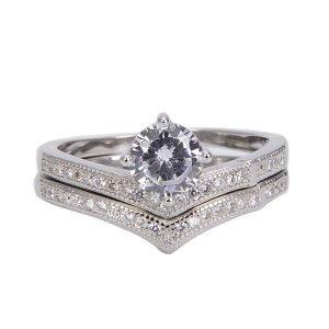 """Сребърен пръстен """"Споделена Любов"""""""
