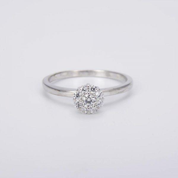 пръстен от сребро 925 с цирконий