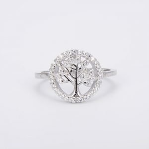 """Silver ring """"Tree of Life"""""""