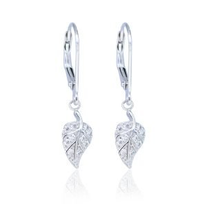 "Silver earrings ""Harmony"""