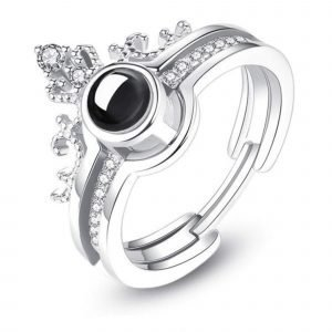 """Сребърен пръстен """"Безгранична Любов"""""""