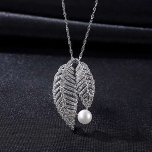 "Silver necklace ""Inspiration"""