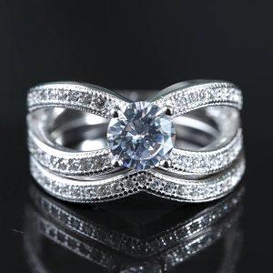 """Сребърен пръстен """"Трио"""""""