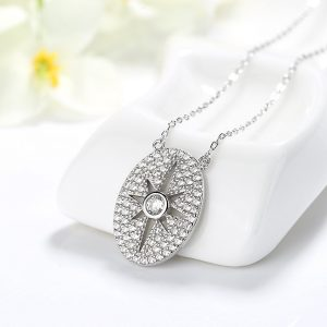 "Silver necklace ""Charisma"""
