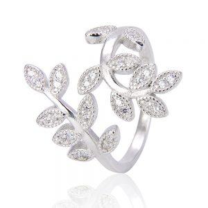 """Сребърен пръстен """"Цвете"""""""