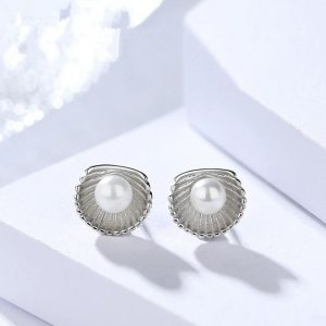 "Silver earrings ""Midi"""