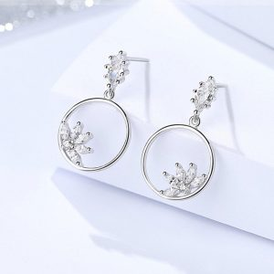 "Silver earrings ""Beauty"""