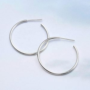 "Silver earrings ""Mirror Shine"""
