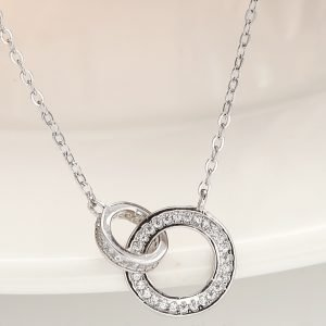 "Silver necklace ""One for Another"""