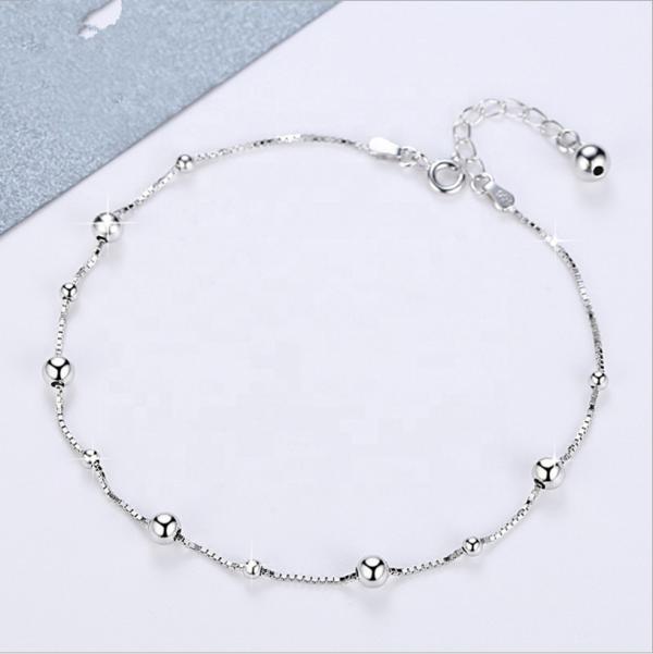 silver bracelet bead beads