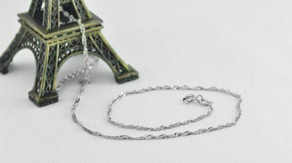 плетка сингапур синджир сребро 925 и айфеловата кула