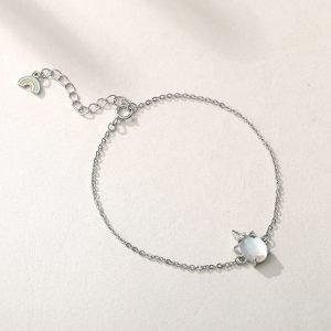 "Silver bracelet ""Unicorn"""