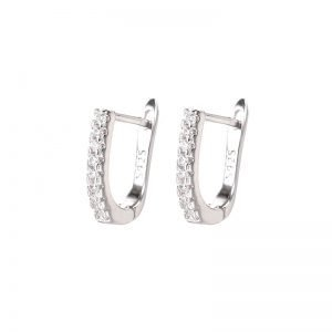 "Silver earrings ""Elegance"""
