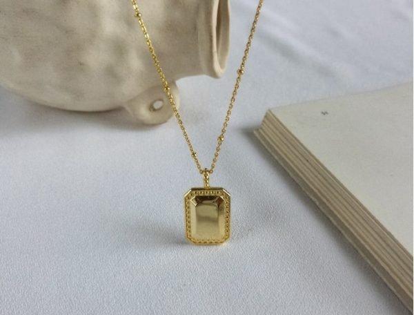 сребърно златно колич с плоча