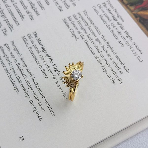 gold plated silver ring force