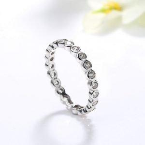 """Сребърен пръстен """"Изтънченост"""""""