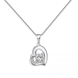 "Silver necklace ""Eternal Love"""