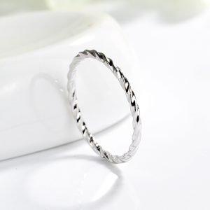 """Сребърен пръстен """"Минимализъм"""""""