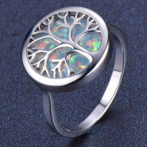 "Silver ring ""Magic"""