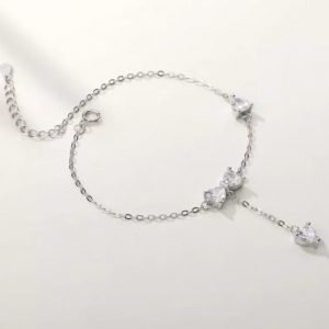"Silver bracelet ""Height"""