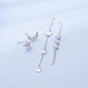 """Silver earrings """"Fantasia"""""""