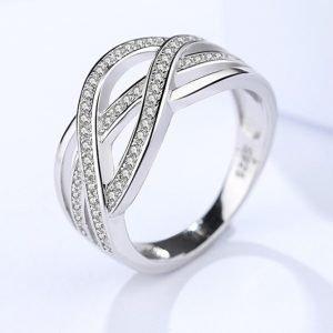 """Сребърен пръстен """"Лабиринт"""""""