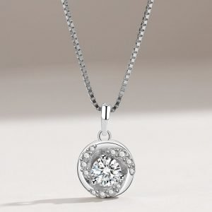 """Silver necklace """"Energy"""""""