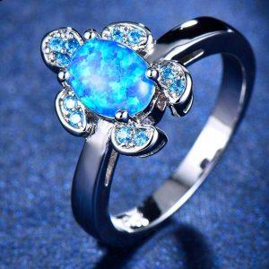 """Сребърен пръстен """"Костенурка"""""""