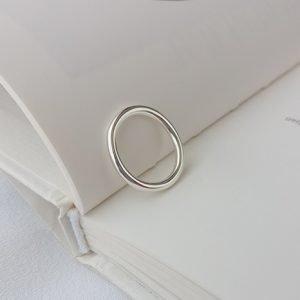 """Сребърен пръстен """"Скромност"""""""