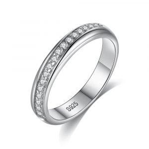 """Сребърен пръстен """"Обиколка"""""""