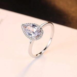 "Silver ring ""Elegance"""