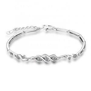 "Silver bracelet ""Impulse"""