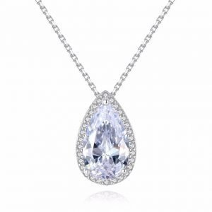 "Silver necklace ""Elegance"""