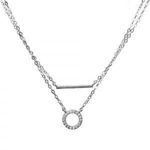 "Silver necklace ""Harmony"""