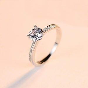 "Silver ring ""Manier"""