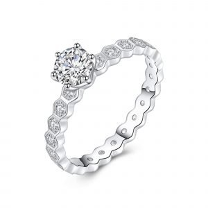 """Сребърен пръстен """"Живот"""""""
