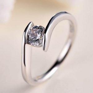 """Сребърен пръстен """"Вълна"""""""