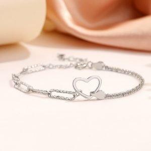 """Silver bracelet """"Love"""""""