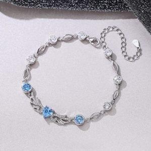 """Silver bracelet """"Might"""""""