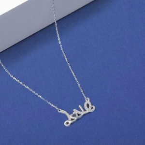 """Silver necklace """"Love"""""""