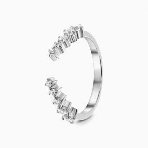 """Сребърен пръстен """"Кралица"""""""